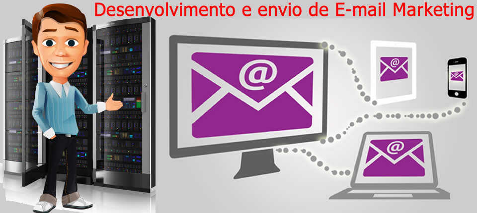 Desenvolvimento e envio de E-mail Marketing-Doctor Micro Pc